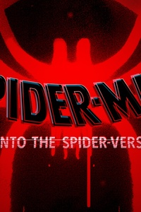 SpiderMan Into The Spider Verse Movie Logo