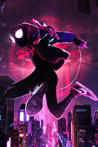 SpiderMan Into The Spider Verse Movie New Arts