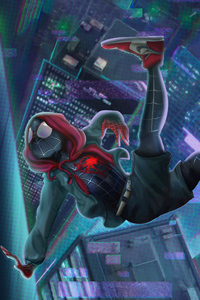 SpiderMan Into The Spider Verse New Art 4k 2019