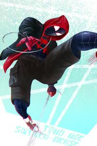 SpiderMan Into The Spider Verse New Artwork HD 2018