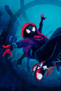 640x1136 SpiderMan Into The Spider Verse New Artwork