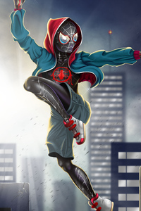 SpiderMan Into The Spider Verse New FanArt
