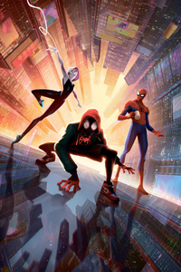 720x1280 SpiderMan Into The Spider Verse New New 5k