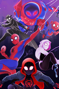SpiderMan Into The Spider Verse New New Poster