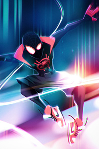 Spiderman Into The Spiderverse Illustration Character Design