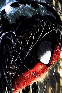 720x1280 Spiderman Into Venom