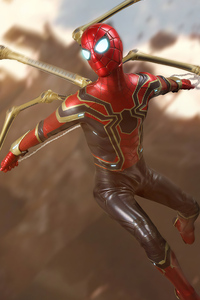 240x320 Spiderman Iron 8k