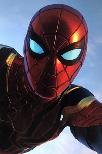 Spiderman Iron Stark Suit