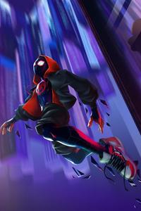 240x320 Spiderman Jump 4k