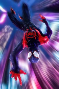 1440x2560 Spiderman Jumping Down