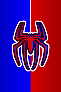 1440x2560 Spiderman Logo 12k