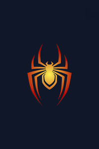 720x1280 Spiderman Logo Minimal 5k