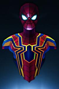 Spiderman Lowpoly Minimalism