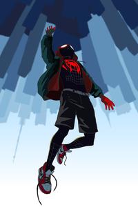 Spiderman Man Verse 4k
