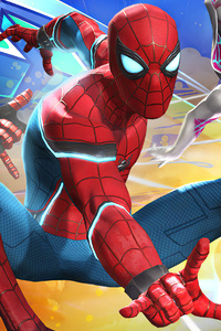 1080x1920 Spiderman Marvel Contest Of Champions 4k 2020