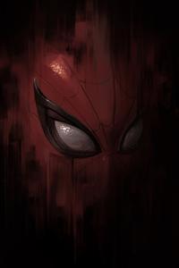 Spiderman Mask Closeup