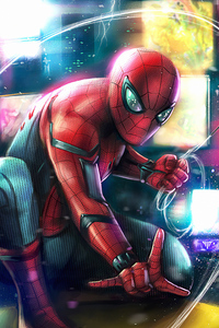 1080x1920 Spiderman Miles 4k