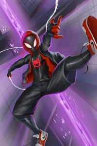 Spiderman Miles Artnew