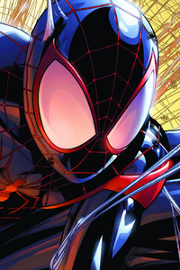 Spiderman Miles Morales Artwork
