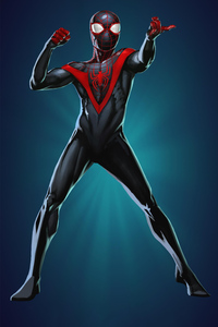 Spiderman Miles Morales Artworks 2018