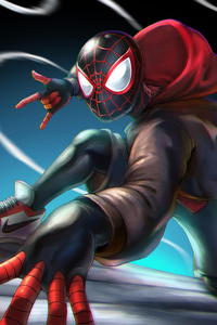Spiderman Miles Morales Artworks