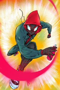 Spiderman Miles Morales Artworks 4k