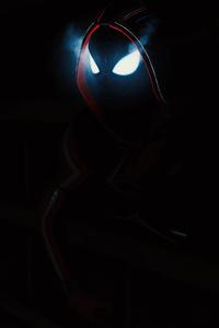 1080x2160 Spiderman Miles Morales Dark 4k