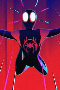 Spiderman Miles Morales Digital Art 4k