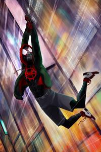 Spiderman Miles Morales Digital Artwork