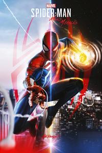 2160x3840 Spiderman Miles Morales Fanart 4k