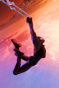 Spiderman Miles Morales Hang It Here 4k