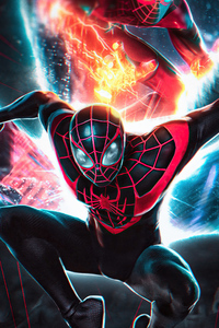 480x800 Spiderman Miles Morales Insomniac Games
