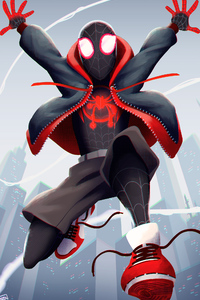 Spiderman Miles Morales New Art