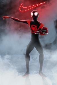 2160x3840 Spiderman Miles Morales Nike Air Jordan