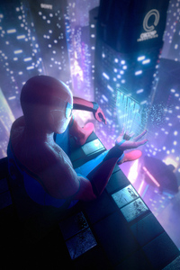 Spiderman Miles Tech