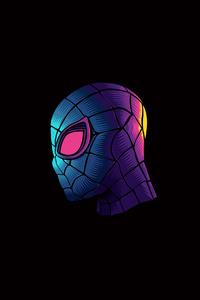 1080x1920 Spiderman Minimalism 4k