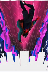 1280x2120 Spiderman Multiverse 4k