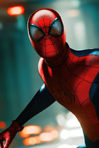720x1280 Spiderman New Reflections 4k