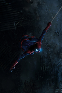 800x1280 Spiderman Night