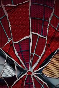 480x800 Spiderman No Way Home Broken Mask 4k