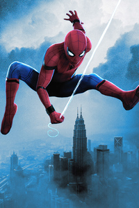 1080x2160 Spiderman No Way Home Fan Made Poster 5k