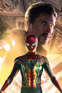 1280x2120 Spiderman No Way Home Movie 2021 5k