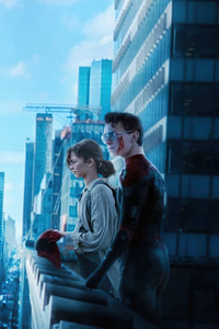 640x960 Spiderman No Way Home Movie Poster 4k