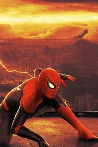 750x1334 Spiderman No Way Home Poster 4k