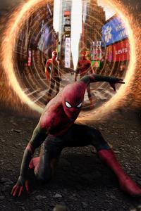 540x960 Spiderman No Way Home Poster Art 4k