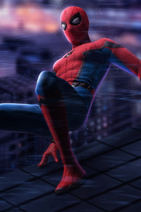 Spiderman On The Wall 5k