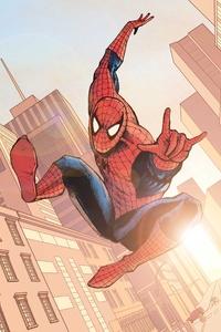 Spiderman Paint Art 5k