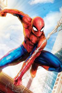 540x960 Spiderman Paint Art4k