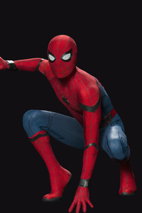 Spiderman Posing