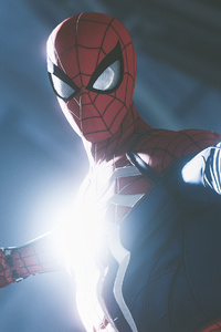 2160x3840 Spiderman Ps4 4k Spiderweb